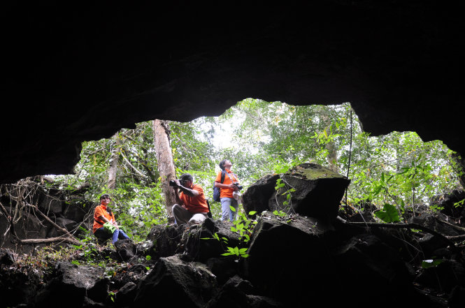 volcanic cave system dak nong 6