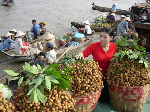 cai rang floating market 2