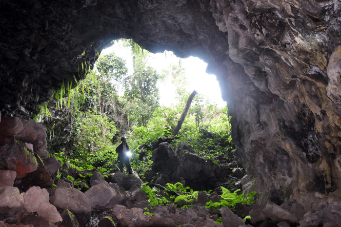 volcanic cave system dak nong 8
