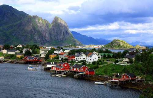 Fishing Village Reine Norway