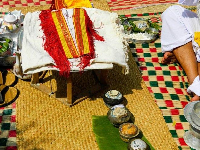 Kut Entrance Ceremony of Brahmin the Cham people 11