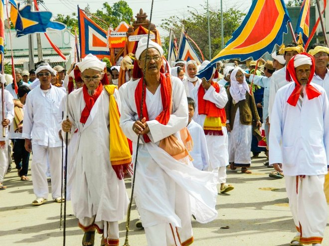 Kut Entrance Ceremony of Brahmin the Cham people 3
