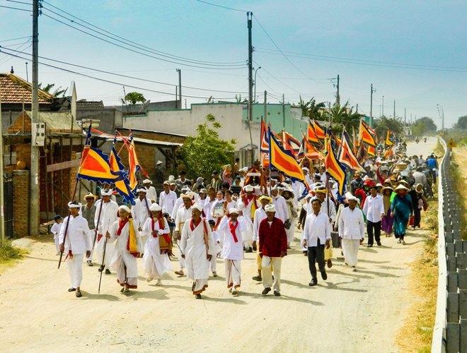 Kut Entrance Ceremony of Brahmin the Cham people 4