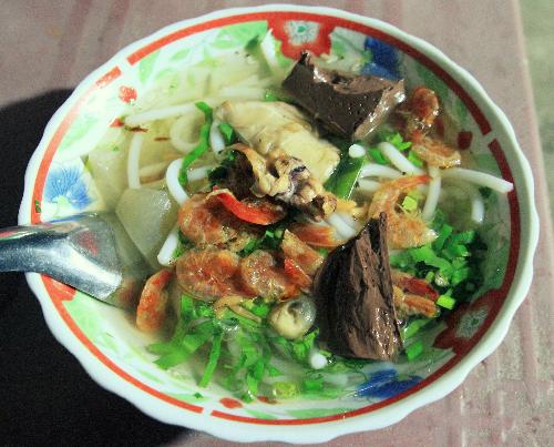 Thoai Son shrimp soup cake