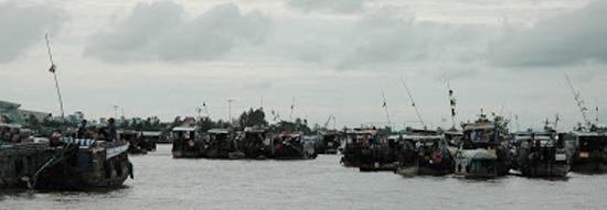 Vietnam_Mekong Delta_mekong floating market