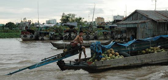 Vietnam_Mekong Delta_mekong floating market4