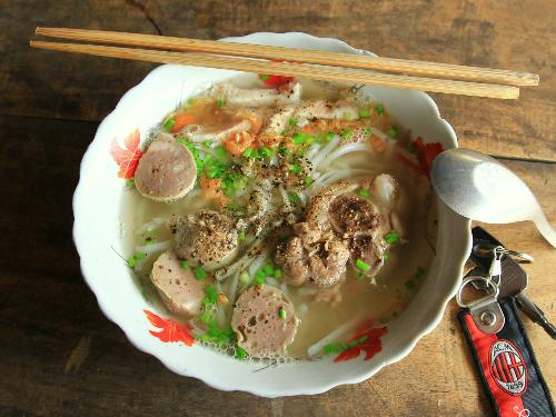 Vinh Trung soup cake