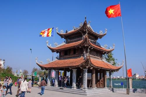 pagoda in ha noi - Tao sach