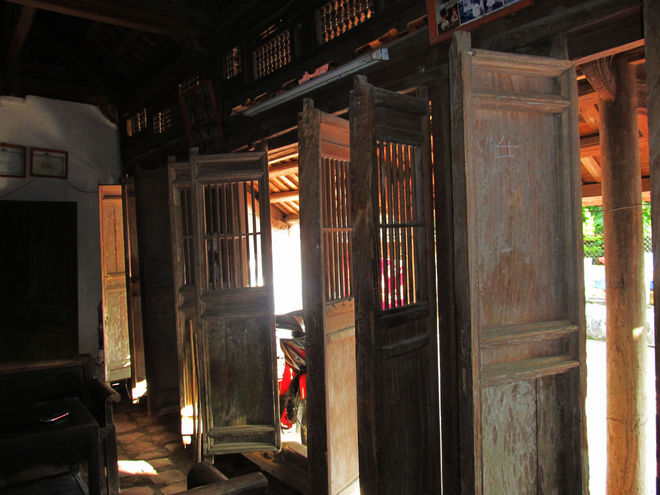 A hundred years old house in Thanh Hoa