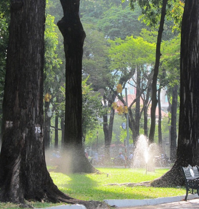 Saigon's Parks & Open Spaces